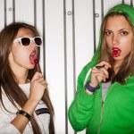 Naughty girls — Stock Photo