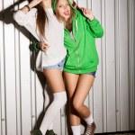 Naughty girls — Stock Photo #13890605