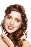 Krásná dáma — Stock fotografie
