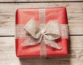 Caja de regalo vintage — Foto de Stock