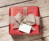 Vintage geschenk-box — Stockfoto