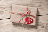Vintage gift box — Stock Photo