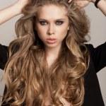 Long Wavy Hair — Stock Photo
