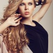 Long Wavy Hair — Stock Photo