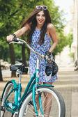 Rowery miejskie — Zdjęcie stockowe