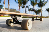 Skateboard on the promenade — Stock Photo