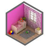 Baby room — Stock Photo