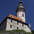 View of Cesky Krumlov (Czech Krumlov) - Stockfoto