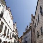View of Cesky Krumlov (Czech Krumlov) - historical town, Czech republic, UNESCO — Stock Photo