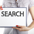 Search business concept - Stock Photo