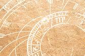 Prague, Çek Cumhuriyeti, eski astronomik saat — Stok fotoğraf