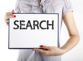 Search business concept — Stock Photo