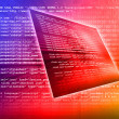 Source code technology background — Stock Photo