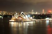 Sydney Harbour with Opera House and Bridge — Stock Photo