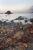 Morze kamieni st słońca - wyspa elba, włochy — Zdjęcie stockowe