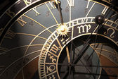 Old astronomical clock in Prague, Czech Republic — Stock Photo