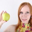 Healthy Eating Woman — Stock Photo