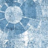 Technologieontwerp met textuur en tech en grunge elementen — Stockfoto