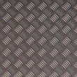 图库照片: Detailled diamond plate metal texture