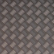 Detailled diamond plate metal texture — Stock fotografie