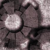 Tecnologia design com elementos de textura e tecnologia e grunge — Fotografia Stock