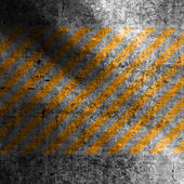 Yellow stripes grunge background with texture — Stock Photo