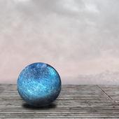 Textured spheres — Stock Photo