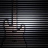 Soyut gitar doku arka plan — Stok fotoğraf