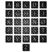 Unique alphabet set — Stock Photo