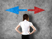 Decision making concept — Stock Photo