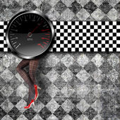 Speedometer background — Stock Photo