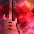 Abstract guitar texture background — Stock Photo