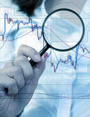 Commodity trading concept — Stock Photo