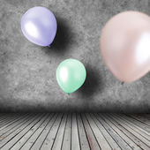 Balloons Inside — Stock Photo