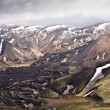 Panoramatic view mountains in Iceland, Landmannalaugar — Stock Photo #31128601