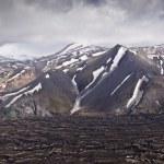 montagne di vista panoramico in Islanda, landmannalaugar — Foto Stock