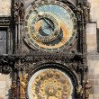 Old astronomical clock in Prague — Stockfoto