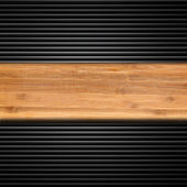 Wood and iron texture — Stock Photo