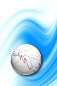 Commodity trading background — Stock Photo