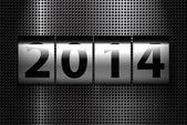 新年快乐 2014 — 图库照片