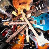 Electric guitar concept — Stock Photo