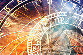 Prague Astronomical Clock (Orloj) — Stock Photo