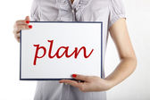 Business planning — Foto Stock