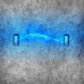 Lightning background — Stock Photo