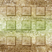 Old grunge background with pattern — Stock Photo