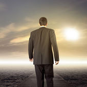 Business leader journey — Stock Photo