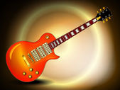 Photorealistic electric guitar — Stock Photo