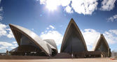 Sydney Harbour with Opera House — Stock Photo