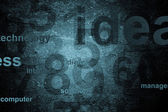 Numbers technology background — Stock Photo