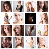 Portraits series — Stock Photo